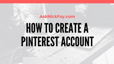 how to create a pinterest account for beginners